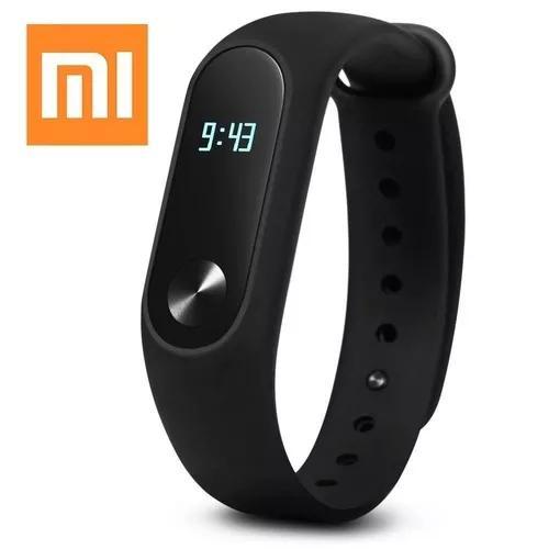 Relogio xiaomi smartwatch monitor cardíaco mi band 2 novo