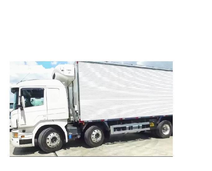 Scania p 310 bi truck bau refrigerado 2014