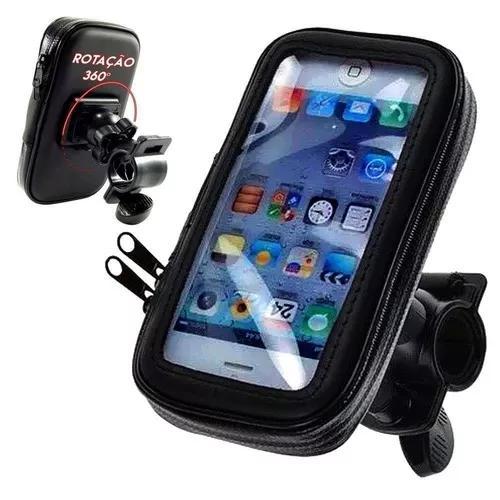 Suporte impermeável universal bike moto porta smartphone