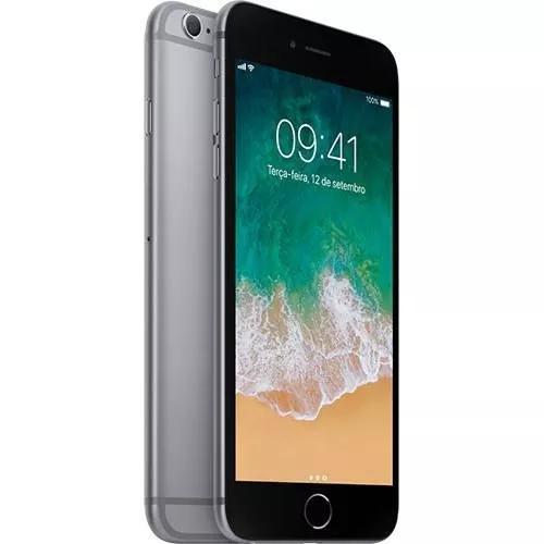 Iphone 6s plus 32gb anatel lacrado nota + capa e película