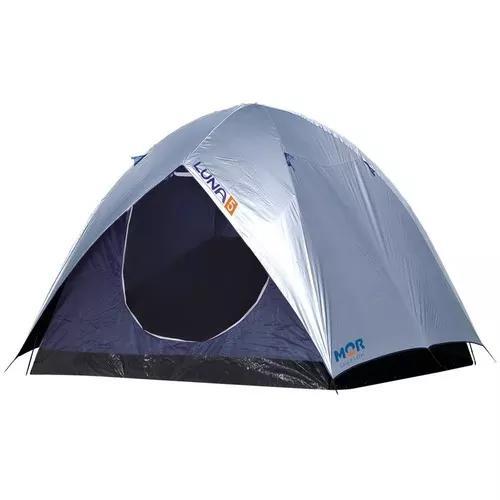 Barraca camping luna 5 pessoas com sobreteto