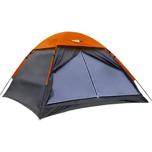 Barraca camping weekend 4 pessoas 2,1x2,1x1,3 impermeável
