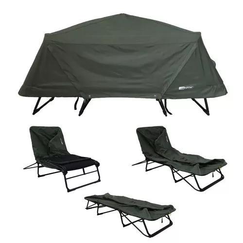 Barraca casal camping c/ cobertura 4