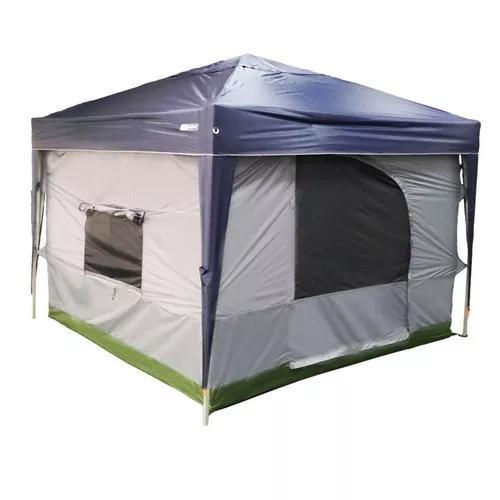Barraca nautika camping transform 5/6 pessoas gazebo 3m x 3m