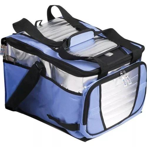 Bolsa térmica ice cooler 36l mor camping até 40 latas