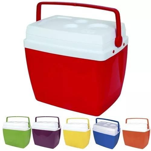 Caixa térmica grande 34 litros 50 latas praia camping mor