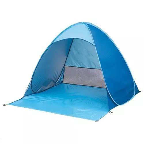 Camping portátil praia tenda 3 pessoas estouro acima:sk