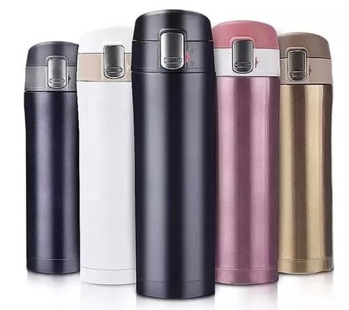Garrafa 500ml térmica aço inox inquebrável c/vacuum cup
