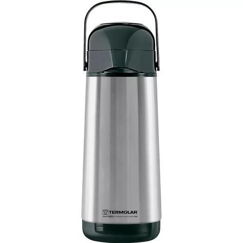 Garrafa térmica inox cafe termolar lúmina pressão 1 litro