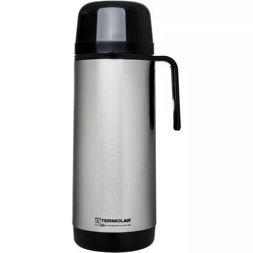 Garrafa térmica inox cafe termolar lumina rosca 1 litro