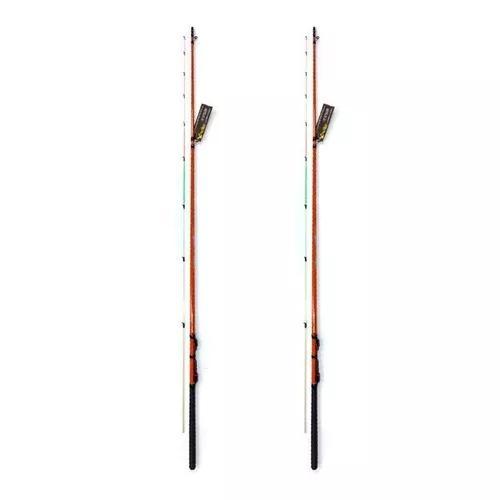 Kit 2 varas pesca ultra light com 1,80 metros tucumã xingu