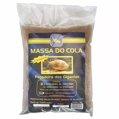 Kit 2kg massa do cola p/ pesca tambas tambaqui pacu 2x1kg