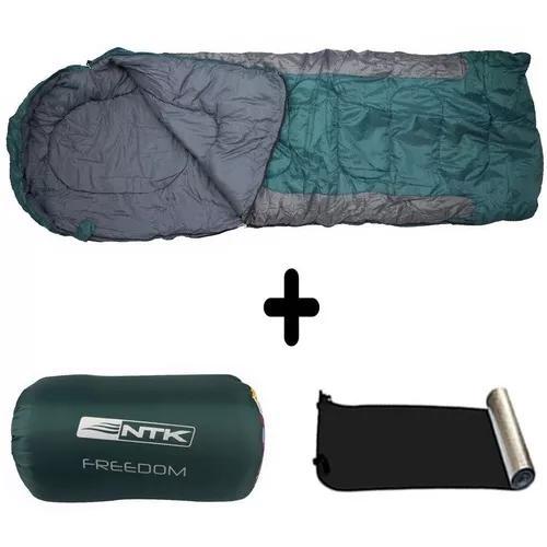 Kit saco de dormir 2.1mx75cm freedom vd cz+isolante térmico