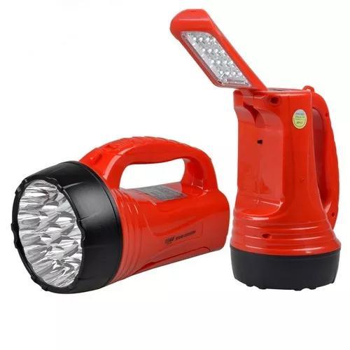 Lanterna dp-735 luminária 23+ 16 led bi-volt -