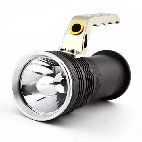 Lanterna holofote led bateria super potente - pronta entrega
