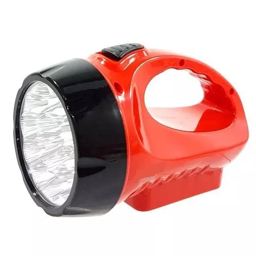 Lanterna recarregável bivolt 15 leds grande 110v 220v