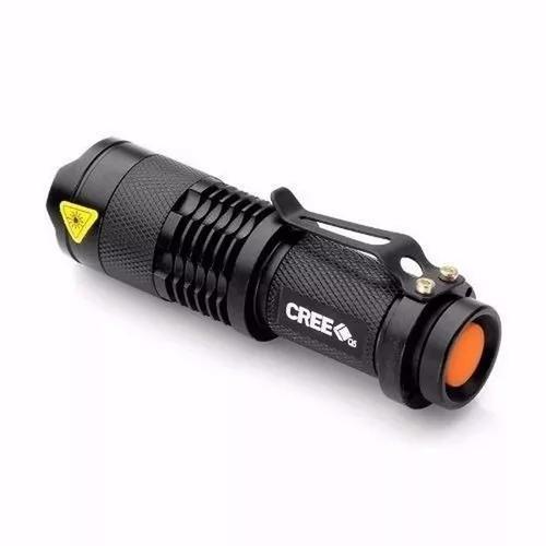 Lanterna tatica police led cree recarregavel profissional