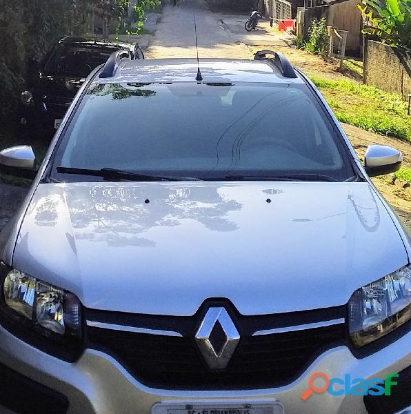 Renault sandero stepway 1.6 2015 flex aut completíssimo