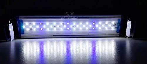 Luminária led p/ aquários de 30 a 40 cm leds azuis e
