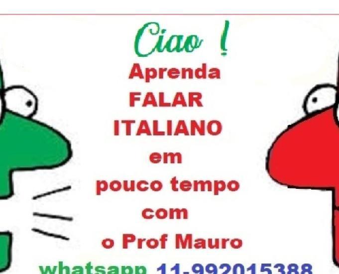 Aulas de italiano básico, falado