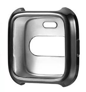 Capa case silicone protetora relógio fitbit versa +