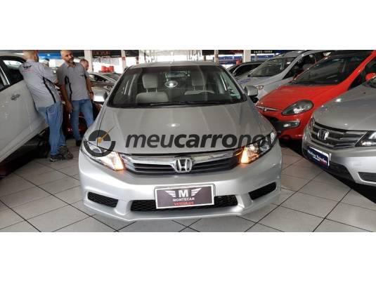 Honda civic sedan lx 1.6 16v mec. 4p 2013/2014