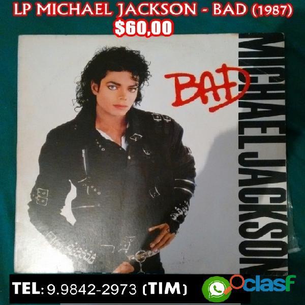Lp michael jackson bad e dangerous