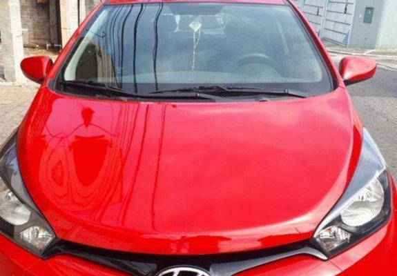 Hyundai hb20 confort plus 1.6 flex - 2013- vermelho- 4