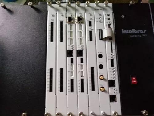 Central pabx 94 rack intelbras completa aceito proposta.