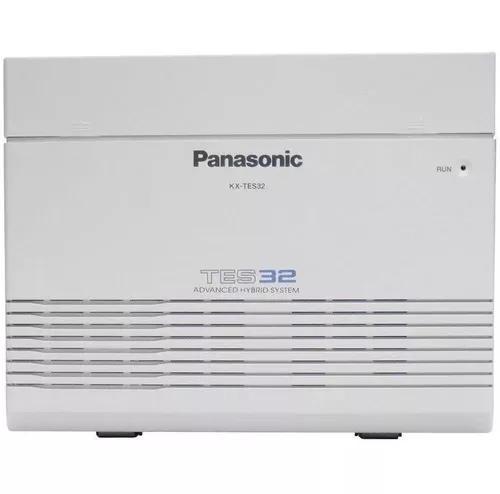 Pabx Panasonic Kx-tes32 3 Linhas E 8 Ramais Promoção