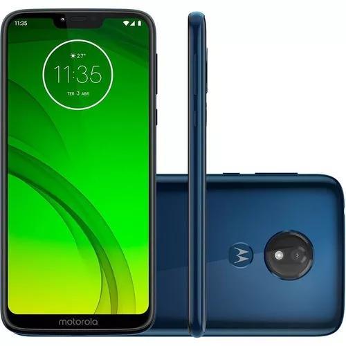 Smartphone Motorola Moto G7 Play Xt1952 Azul Tela5.7 32gb