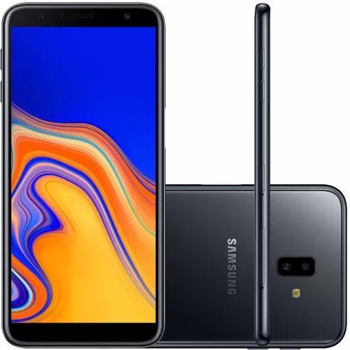 Smartphone samsung galaxy j6+ 32gb dual chip tela 6'' preto