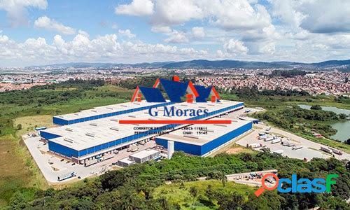 Aluga-se galpões novos módulos de 2.839 m² a 23.822 m²