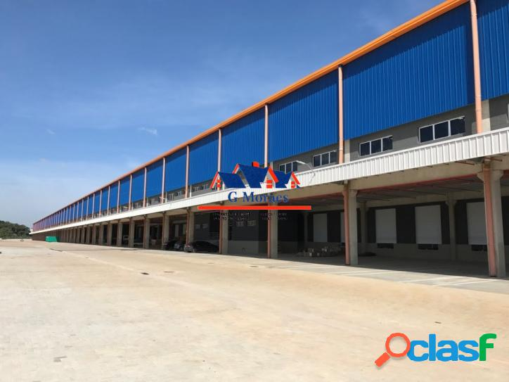 Aluga-se Galpões Novos módulos de 2.839 m² a 23.822 m² 2