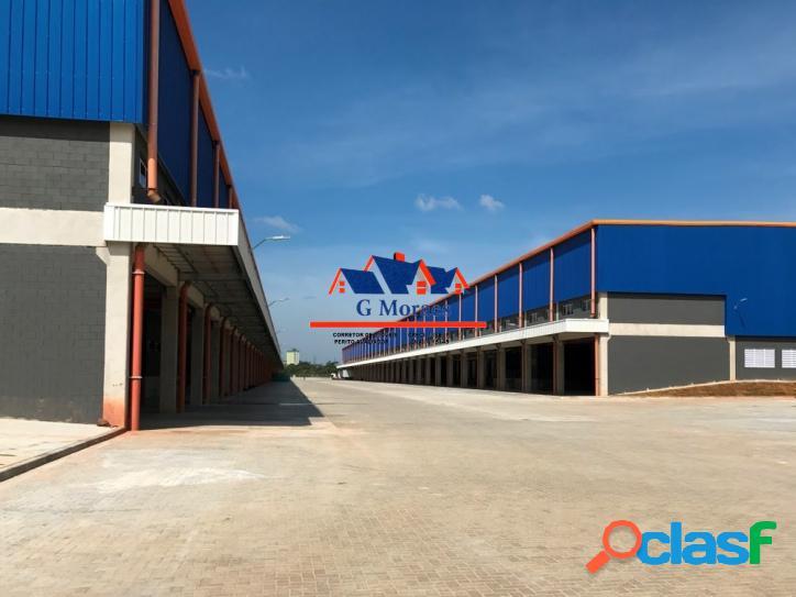 Aluga-se Galpões Novos módulos de 2.839 m² a 23.822 m² 3