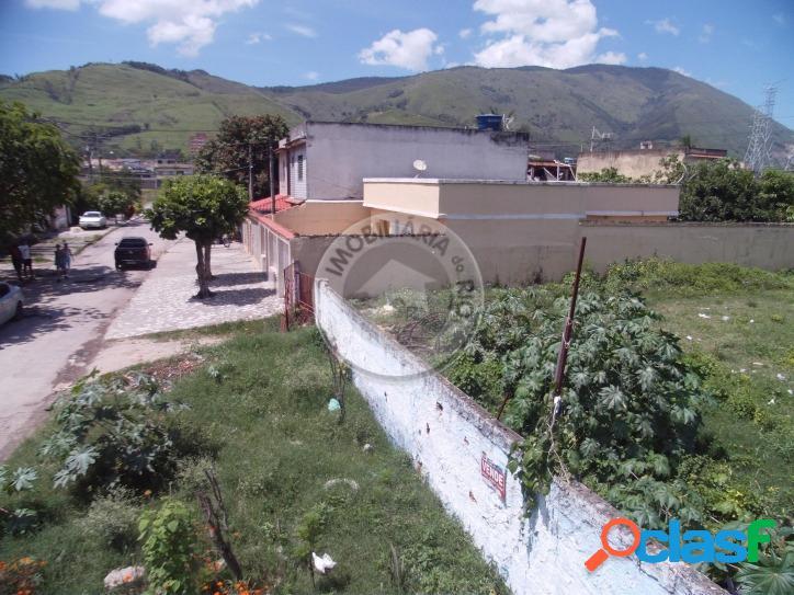 Ótimo terreno 7361m² localizado no centro de nova iguaçu
