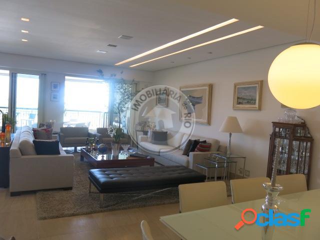 Apartamento 435m², 5 Quartos sendo 4 suítes, Riserva Uno - Barra