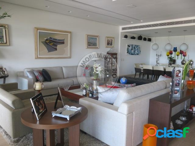 Apartamento 435m², 5 Quartos sendo 4 suítes, Riserva Uno - Barra 1
