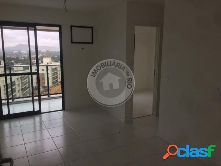 Apartamento 57 m², 2 quartos, condomínio contemporâneo - campo grande