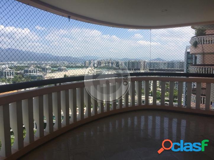 Apartamento 130m², 3 quartos, palm springs - barra