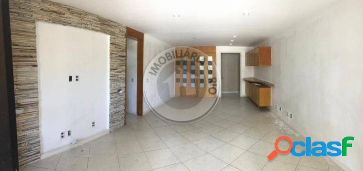 Apartamento 160m², 3 quartos, sol da manhã, palm springs - barra