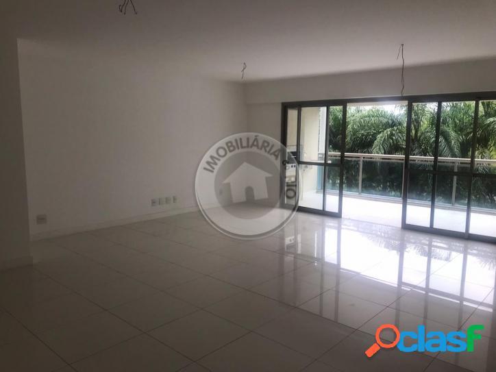 Apartamento 233 m², 4 suítes, condomínio santa mônica jardins - barra