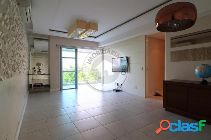 Cond Ventanas Nature Resort com 107m², 3 quartos, barra