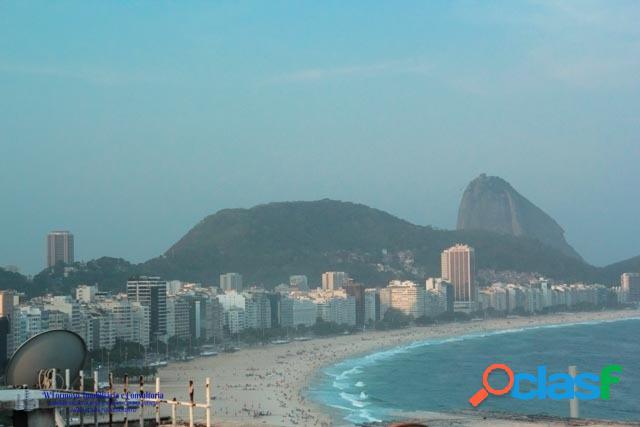 Cobertura Duplex a venda na Av. Atlântica Copacabana RJ 1