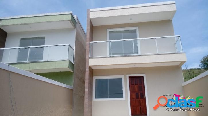 Casa duplex a venda, 3 dormitórios, maricá!