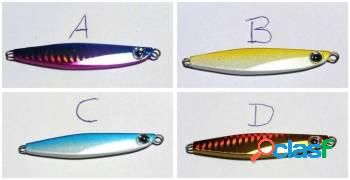 4 jumping jig mini sardinha 20g pesca isca artificial