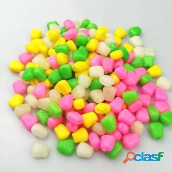 Kit 50 unidades isca milho colorido