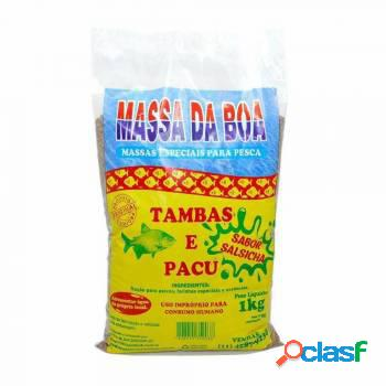 Massa Para Pesca Da Boa Sabor Salsicha 1 kg.