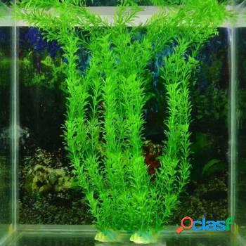 Plantas artificiais para aquario