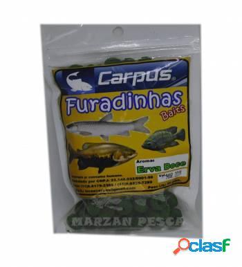Ração furadinha carpus smoke erva doce